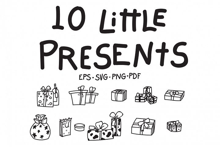 10 Little Presents