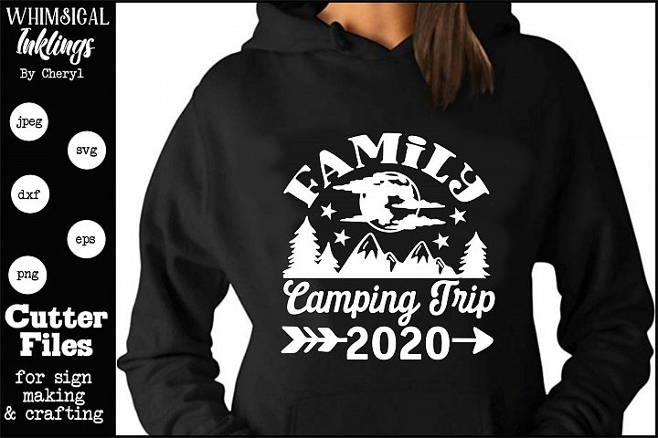 Family Camping Trip SVG