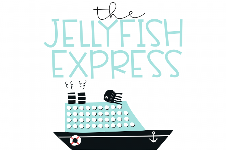 Jellyfish - A Fun Handwritten Font - Free Font of The Week Design 1