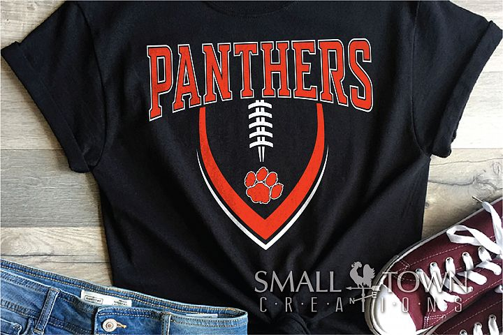 Panthers Football, Team, Sports, Logo, PRINT, CUT & DESIGN