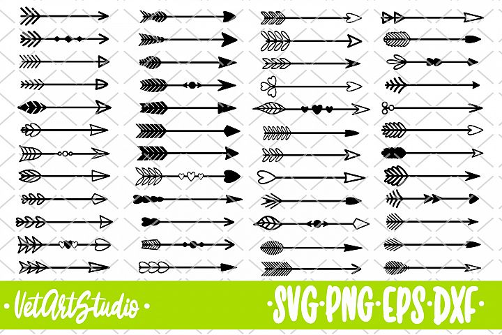 48 Arrows, arrows bundle svg