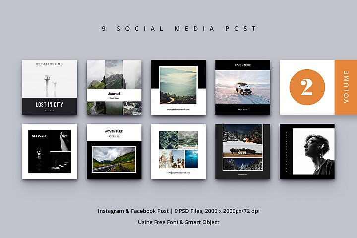 Social Media Post Vol. 2