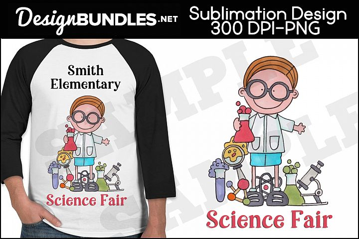 Science Fair Sublimation Design