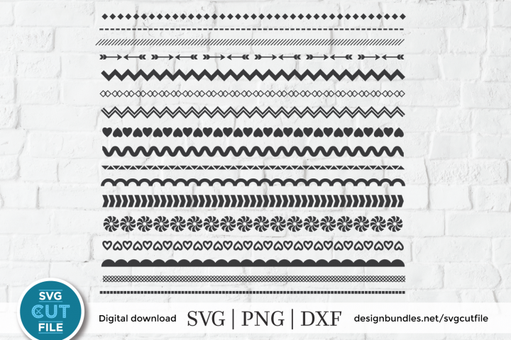 Borders svg, Border flourish svg, Frame swirl svg, Dividers