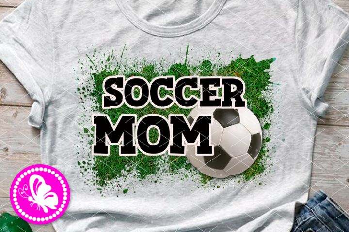 Soccer mom Cheerleader Sublimation designs Transfers Png