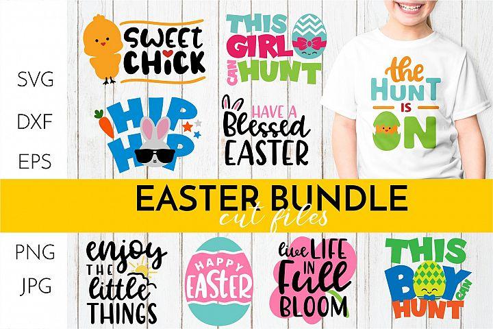 Easter SVG Bundle - Spring CUT FILES - SVG DXF EPS PNG JPG