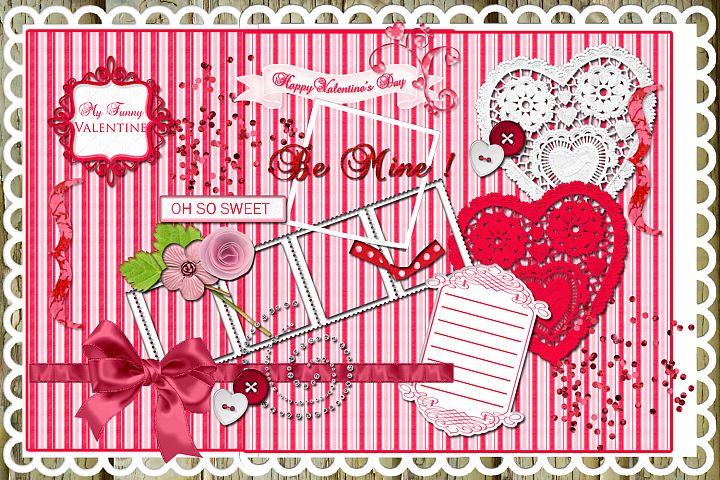 20 Love Letters Elements/ Clipart Designer Pack
