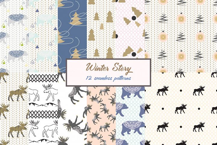 Winter Knitted Patterns