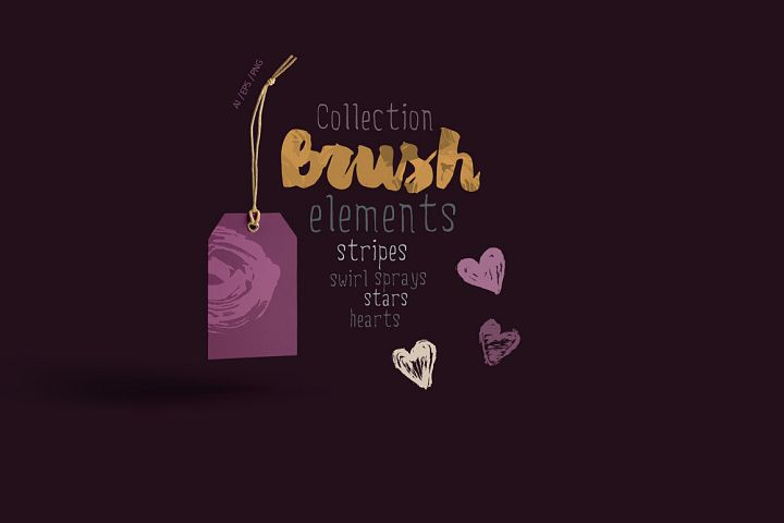 Collection Brush Elements