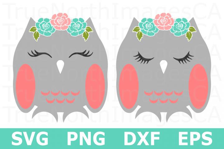 Owls - An Animal SVG Cut File