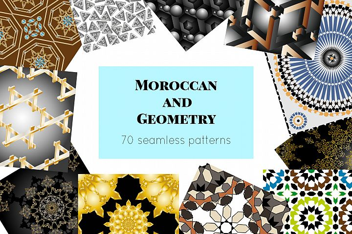 Moroccan and geometry 70 seamless