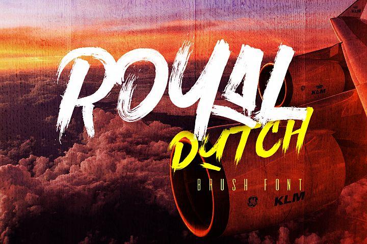 Royal Dutch Font