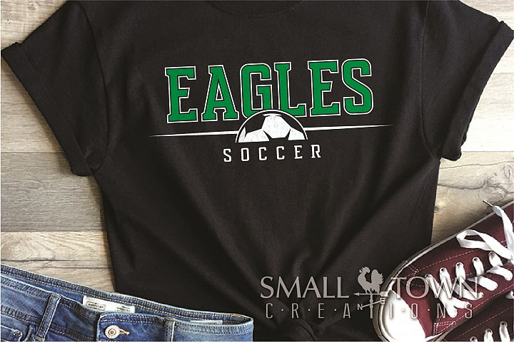 Eagle, Eagle Soccer, Sports, Team, logo, PRINT, CUT & DESIGN