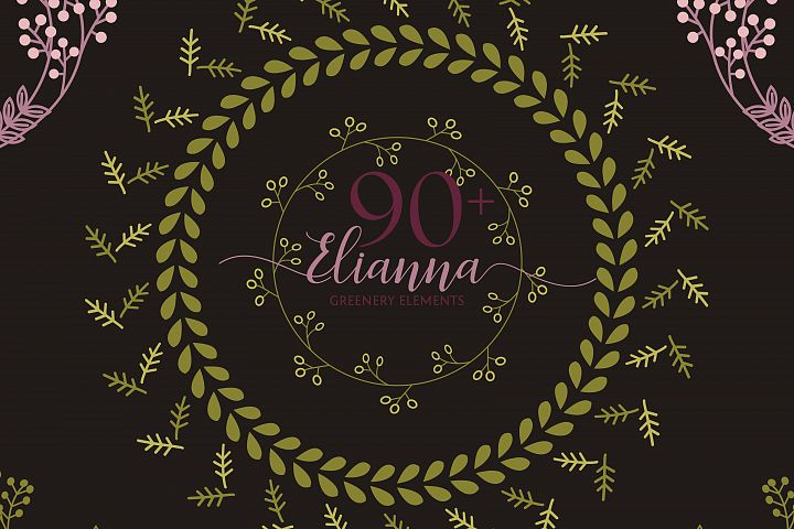 90+ Elianna Greenery Elements