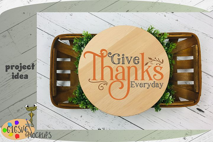 Give Thanks Everyday SVG