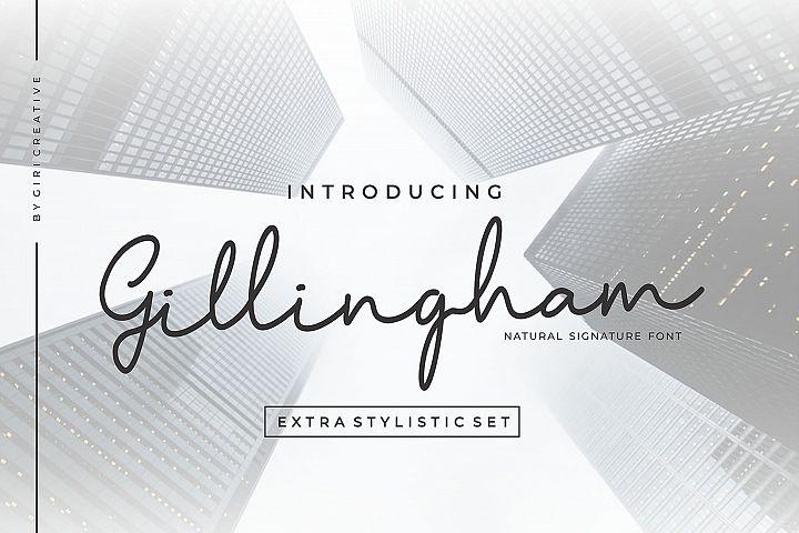 Gillingham - Signature Font
