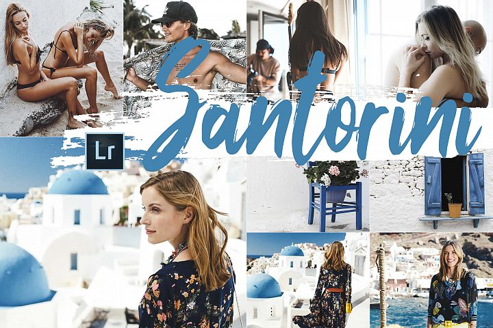 Neo Santorini Theme Desktop Lightroom Presets