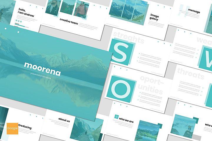 Moorena - Google Slides Template