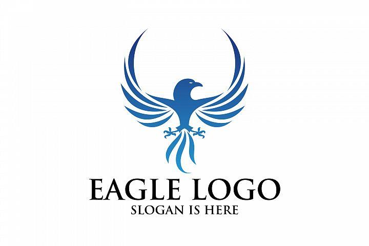 Eagle logo, Flying Logo Illustation