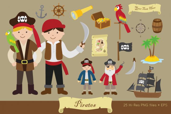 Pirates Clipart