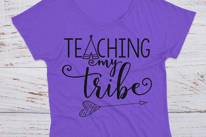 Teaching My Tribe School SVG example 5