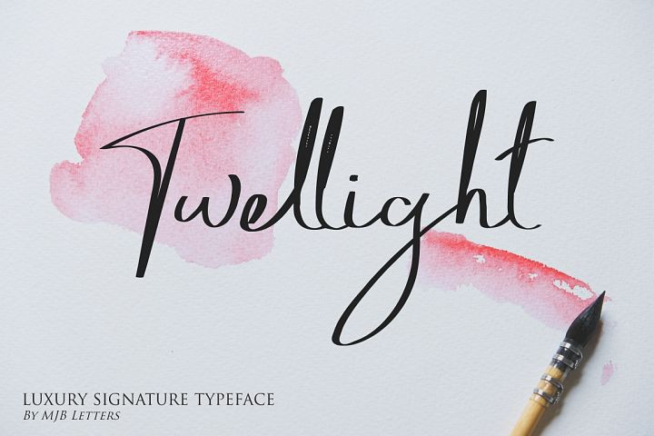 Twellight | Signature Typeface