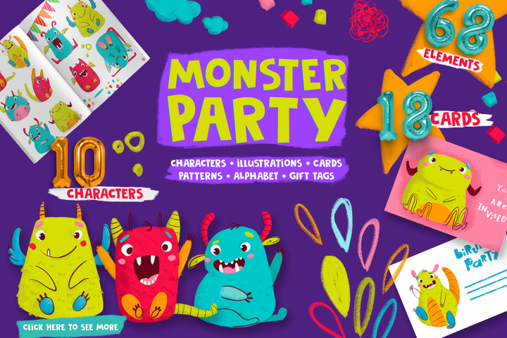 Monster Party Collection