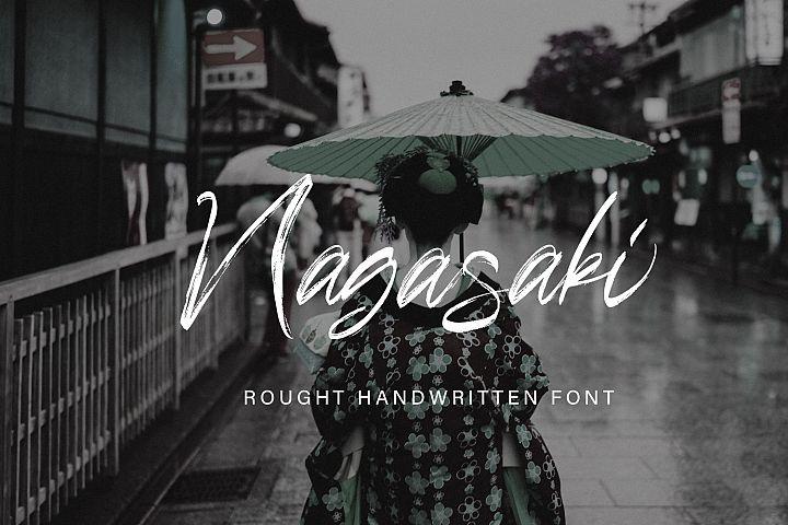 Nagasaki Brush Font