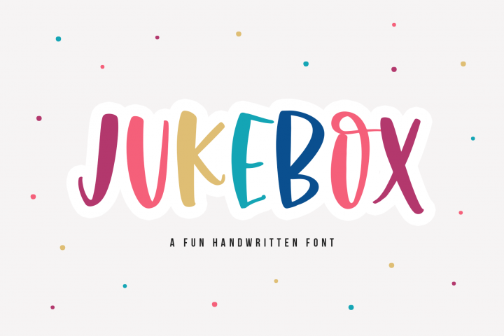 Jukebox - A Fun Handwritten Font