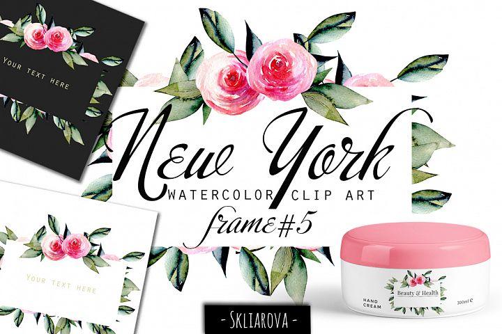 New York. Roses frame #5
