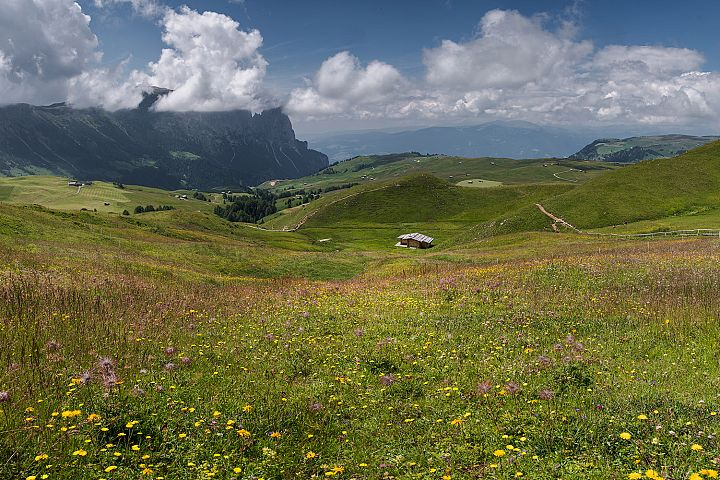 Scenery at Seiser Alm