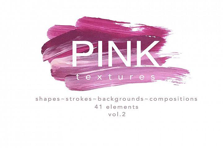 PINK textures - vol.2