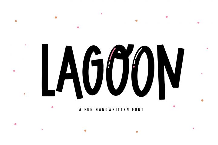 Lagoon - A Fun Handwritten Font