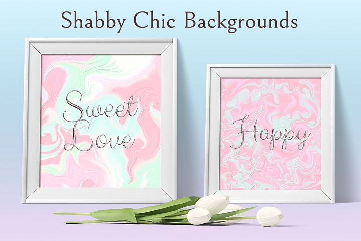 Shabby Chic Backrounds example 4