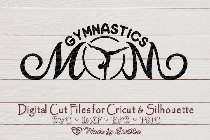 Gymnastics Mom svg, Sports mom svg, Gymnastics, SVG cut file
