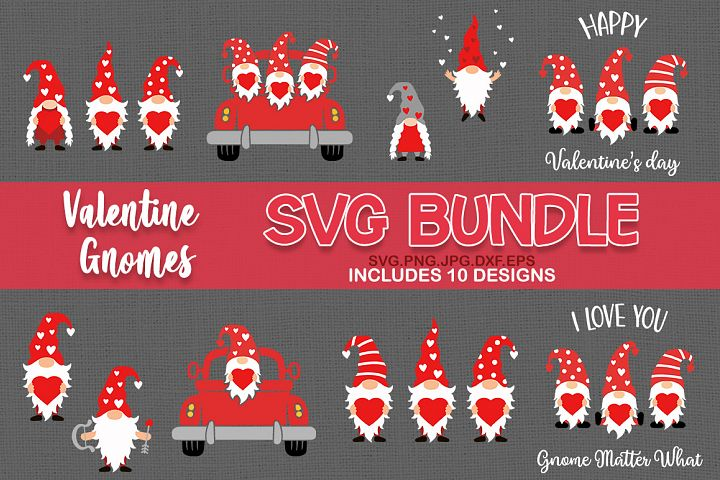 valentines day gnome svg, gnomes svg, bundle svg bundle