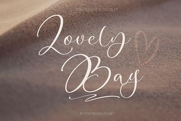 Lovely Bay Script Font