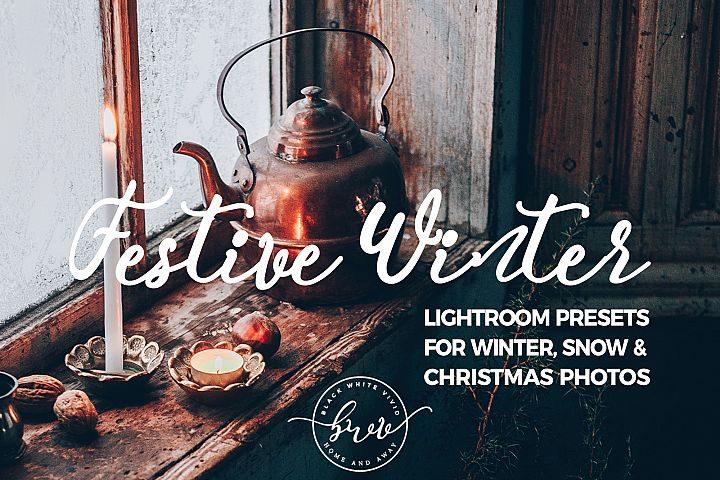 Festive Winter Desktop Lightroom Presets