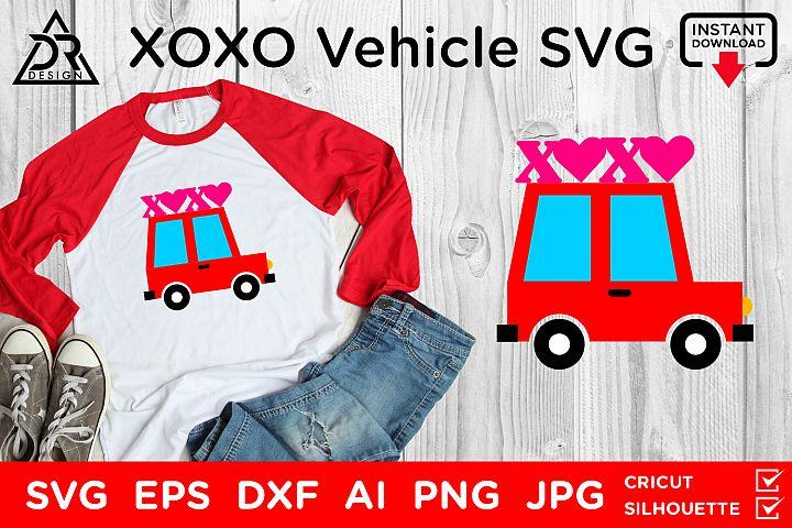 XOXO Vehicle SVG