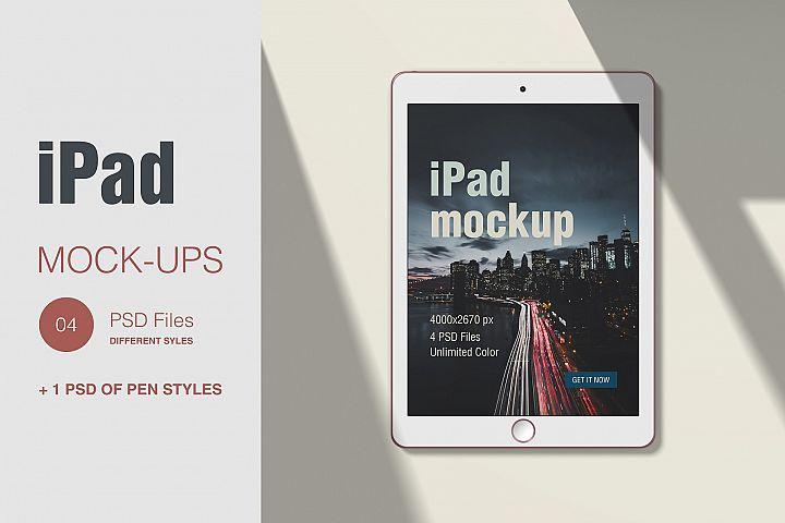 iPad Scene Creator Mockcup