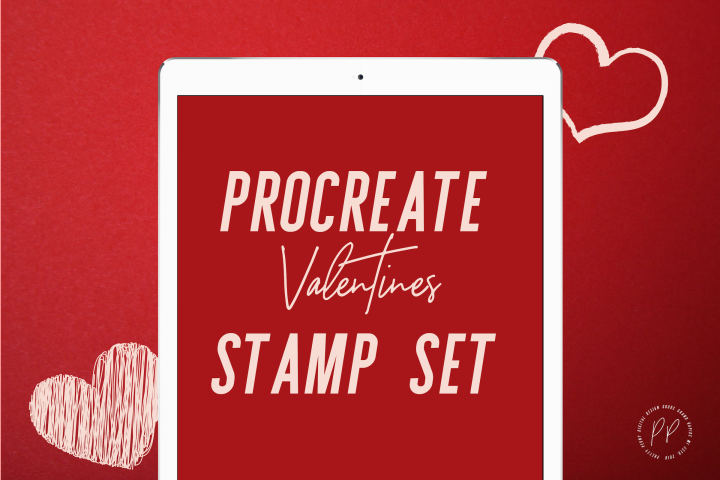 Valentines Day Procreate Stamps