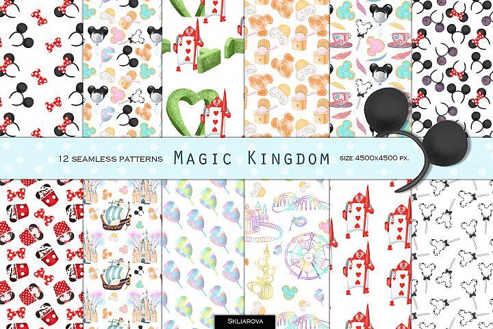 Magic Kingdom patterns