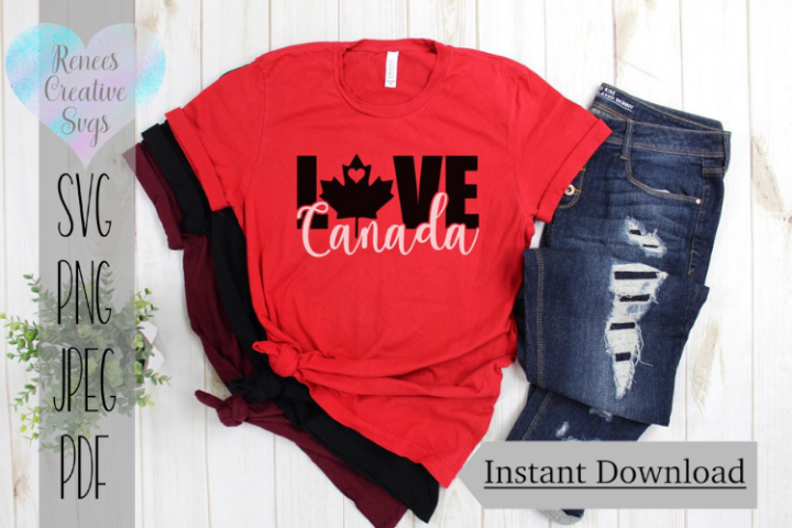 Canada Love | State SVG | SVG Cutting file