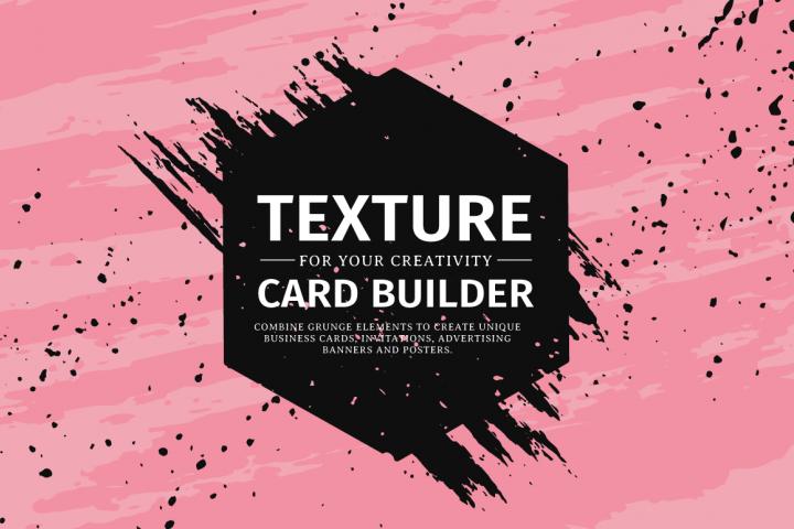 Texture card builder