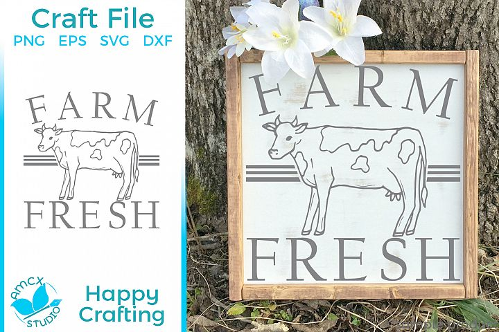 Farm Fresh - A Farm Kitchen SVG File