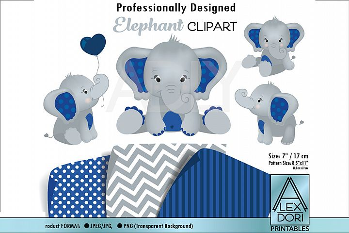 Cute Baby Boy Elephant in JPEG