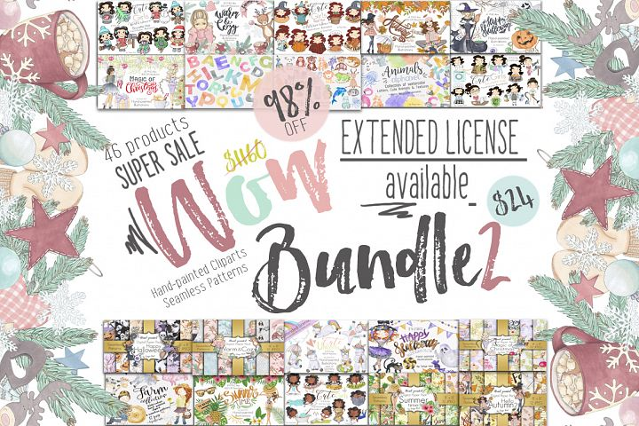 Wow Bundle 2 Edition Spring SALE 98% Off