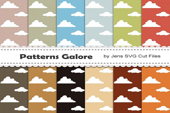 Clouds Digital Papers