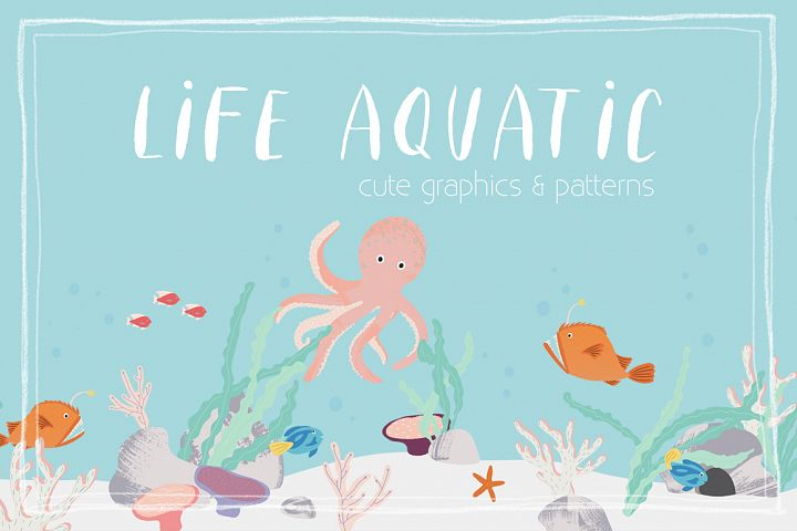 Life Aquatic | Patterns & Graphics