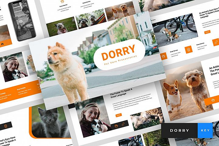 Dorry - Pet Care Keynote Template